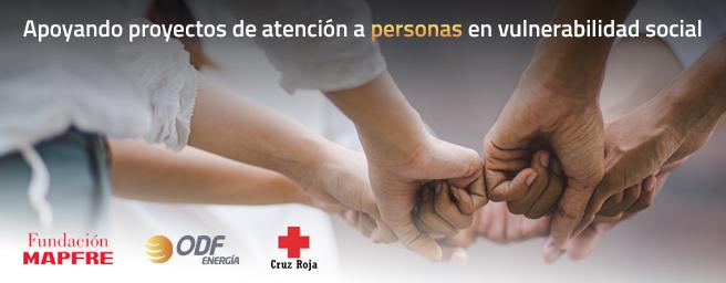 ODF colabora con la Cruz Roja y la Fundación Mapfre apoyando proyectos de atención a personas en vulnerabilidad social con motivo de la crisis sanitaria por Covid-19
