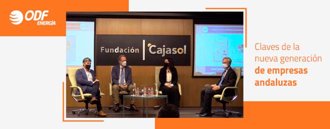 """ODF Energía participa en la presentación del informe """"Claves de la nueva generación de empresas andaluzas"""""""