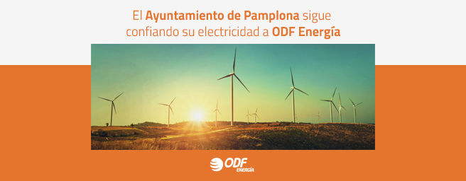 ODF Energía presta servicios de mantenimiento y suministro energético al Ayuntamiento de Pamplona